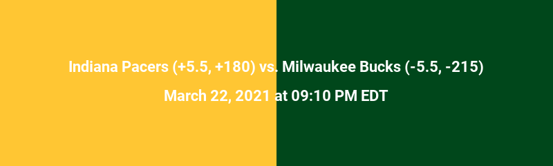 Indiana Pacers vs. Milwaukee Bucks