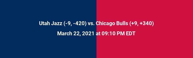 Utah Jazz vs. Chicago Bulls
