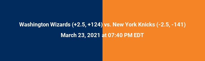 Washington Wizards vs. New York Knicks