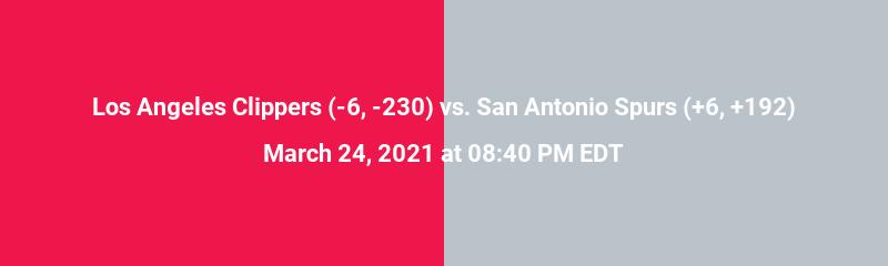 Los Angeles Clippers vs. San Antonio Spurs