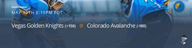 Vegas Golden Knights vs. Colorado Avalanche - May 30, 2021