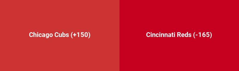 Chicago Cubs @ Cincinnati Reds