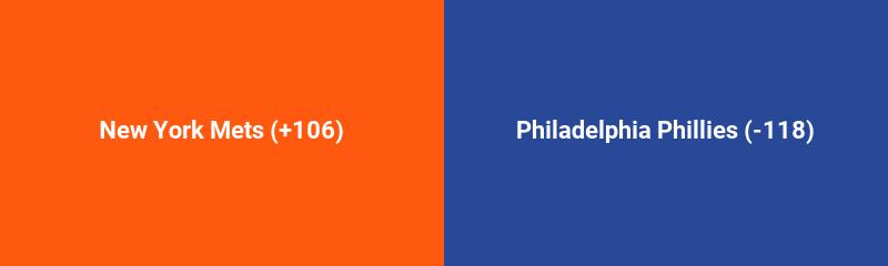 New York Mets @ Philadelphia Phillies