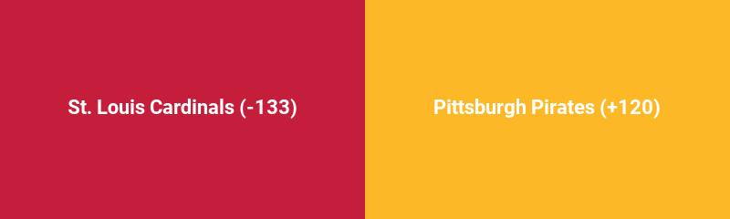 St. Louis Cardinals @ Pittsburgh Pirates