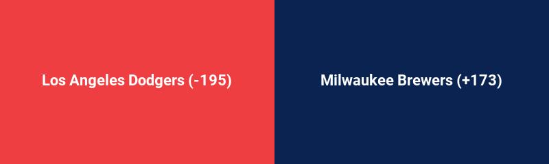 Los Angeles Dodgers @ Milwaukee Brewers