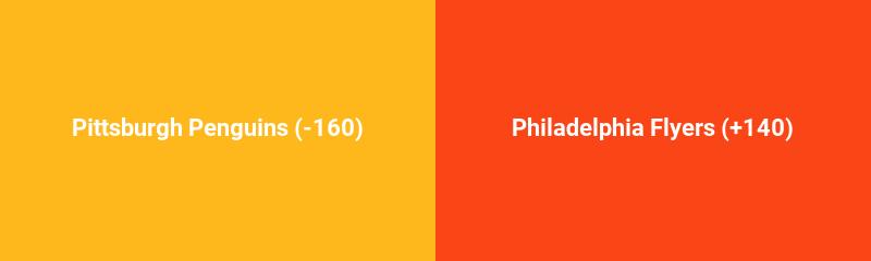 Pittsburgh Penguins vs. Philadelphia Flyers