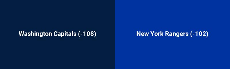 Washington Capitals vs. New York Rangers
