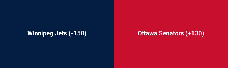 Winnipeg Jets vs. Ottawa Senators