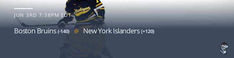 Boston Bruins vs. New York Islanders - June 3, 2021