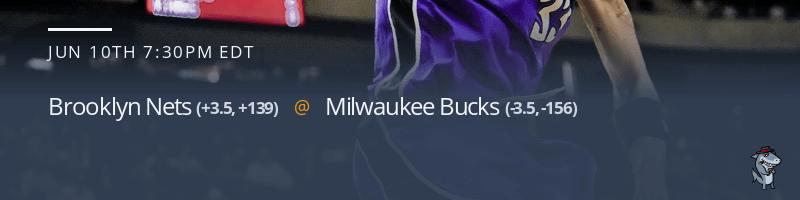 Brooklyn Nets vs. Milwaukee Bucks - June 10, 2021