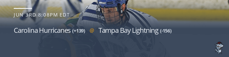 Carolina Hurricanes vs. Tampa Bay Lightning - June 3, 2021