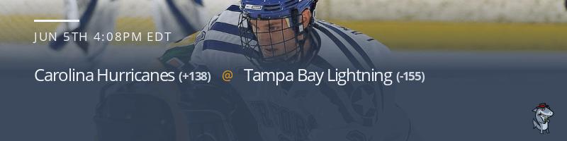 Carolina Hurricanes vs. Tampa Bay Lightning - June 5, 2021