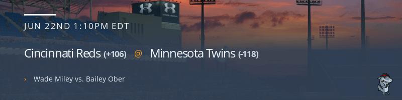 Cincinnati Reds @ Minnesota Twins - June 22, 2021