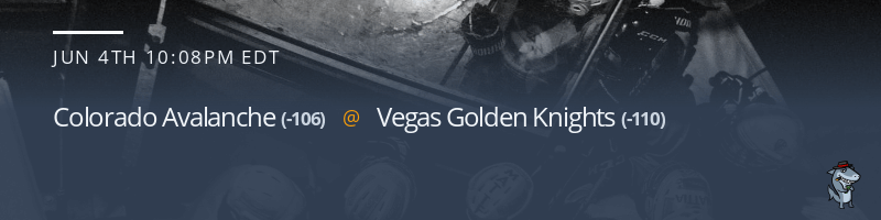 Colorado Avalanche vs. Vegas Golden Knights - June 4, 2021