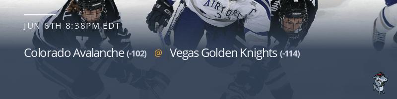 Colorado Avalanche vs. Vegas Golden Knights - June 6, 2021