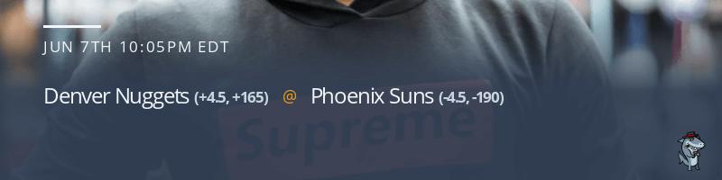 Denver Nuggets vs. Phoenix Suns - June 7, 2021
