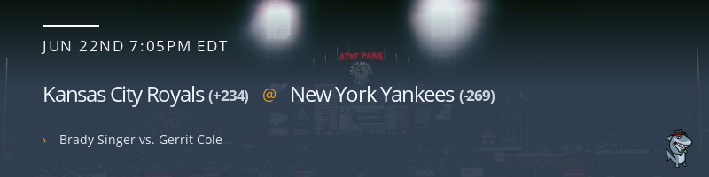 Kansas City Royals @ New York Yankees - June 22, 2021