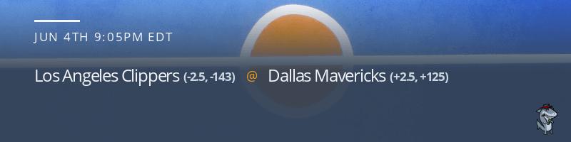 Los Angeles Clippers vs. Dallas Mavericks - June 4, 2021