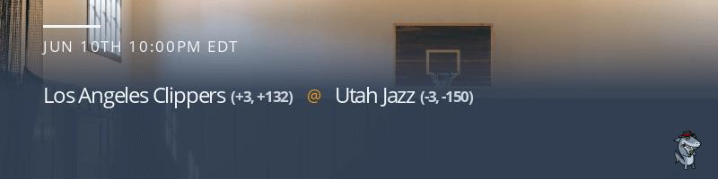 Los Angeles Clippers vs. Utah Jazz - June 10, 2021