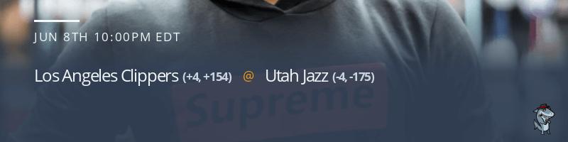 Los Angeles Clippers vs. Utah Jazz - June 8, 2021