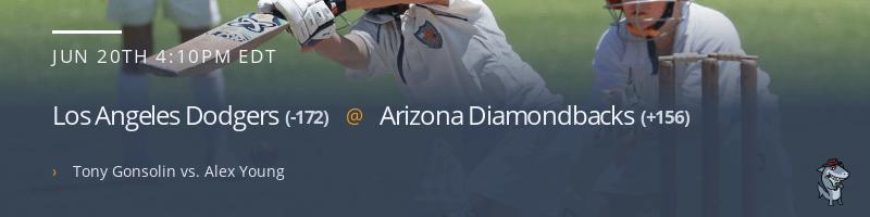 Los Angeles Dodgers @ Arizona Diamondbacks - June 20, 2021
