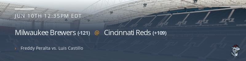 Milwaukee Brewers @ Cincinnati Reds - June 10, 2021