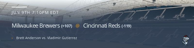 Milwaukee Brewers @ Cincinnati Reds - June 9, 2021