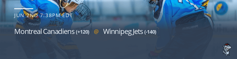 Montreal Canadiens vs. Winnipeg Jets - June 2, 2021