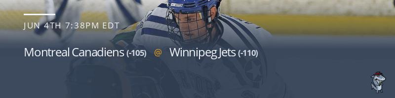 Montreal Canadiens vs. Winnipeg Jets - June 4, 2021
