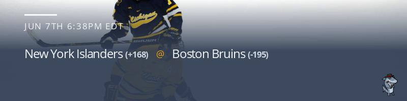 New York Islanders vs. Boston Bruins - June 7, 2021