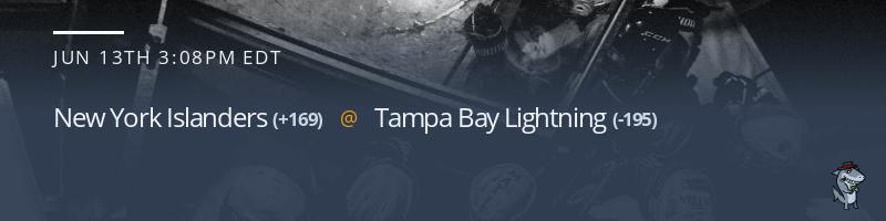 New York Islanders vs. Tampa Bay Lightning - June 13, 2021