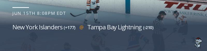 New York Islanders vs. Tampa Bay Lightning - June 15, 2021