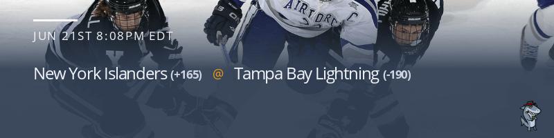 New York Islanders vs. Tampa Bay Lightning - June 21, 2021