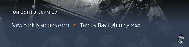 New York Islanders vs. Tampa Bay Lightning - June 25, 2021