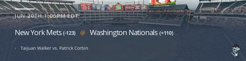 New York Mets @ Washington Nationals - June 20, 2021
