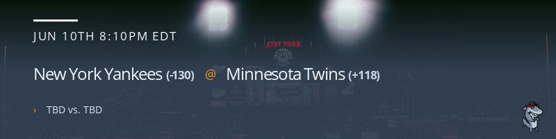 New York Yankees @ Minnesota Twins - June 10, 2021