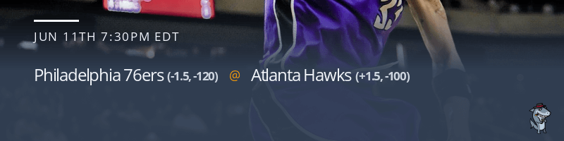 Philadelphia 76ers vs. Atlanta Hawks - June 11, 2021