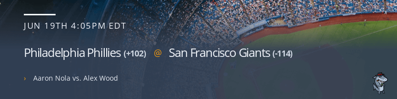 Philadelphia Phillies @ San Francisco Giants - June 19, 2021