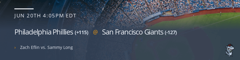 Philadelphia Phillies @ San Francisco Giants - June 20, 2021