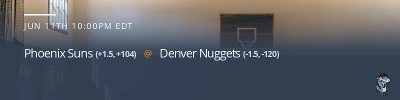 Phoenix Suns vs. Denver Nuggets - June 11, 2021
