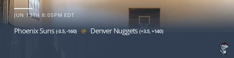 Phoenix Suns vs. Denver Nuggets - June 13, 2021