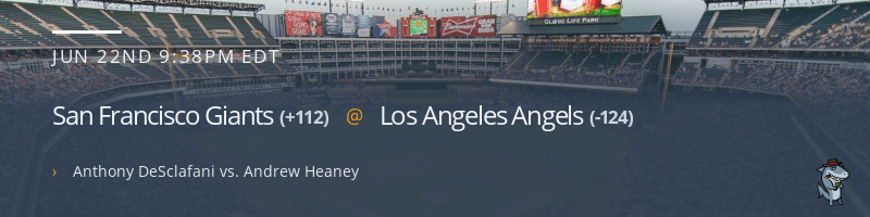 San Francisco Giants @ Los Angeles Angels - June 22, 2021