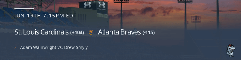 St. Louis Cardinals @ Atlanta Braves - June 19, 2021