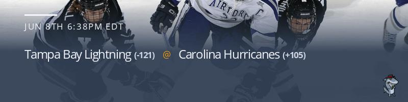 Tampa Bay Lightning vs. Carolina Hurricanes - June 8, 2021