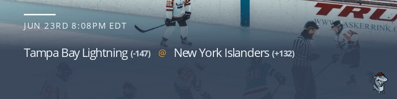 Tampa Bay Lightning vs. New York Islanders - June 23, 2021