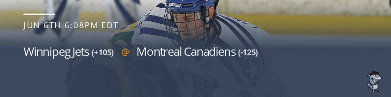 Winnipeg Jets vs. Montreal Canadiens - June 6, 2021