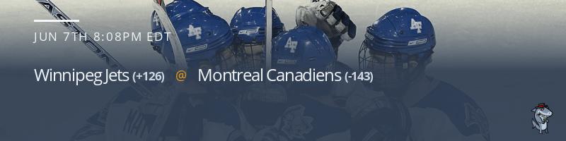 Winnipeg Jets vs. Montreal Canadiens - June 7, 2021