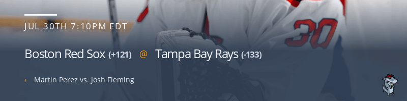 Boston Red Sox @ Tampa Bay Rays - July 30, 2021
