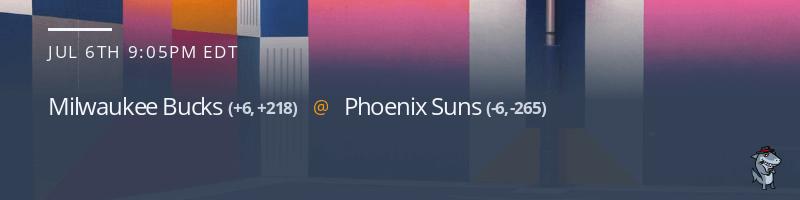Milwaukee Bucks vs. Phoenix Suns - July 6, 2021