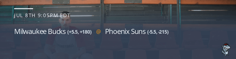 Milwaukee Bucks vs. Phoenix Suns - July 8, 2021